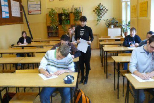 Szkolny etap konkursu matematycznego