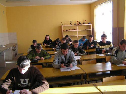 Konkurs matematyczny klas pierwszych