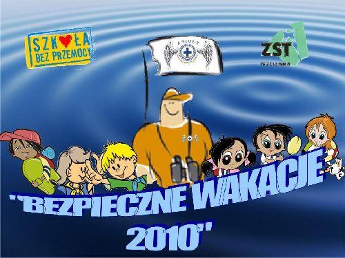 """Podsumowanie realizacji projektu """"Bezpieczne Wakacje 2010"""""""