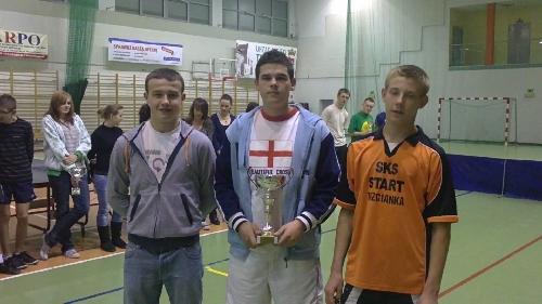 Mistrzostwa powiatu w tenisie stołowym 2011