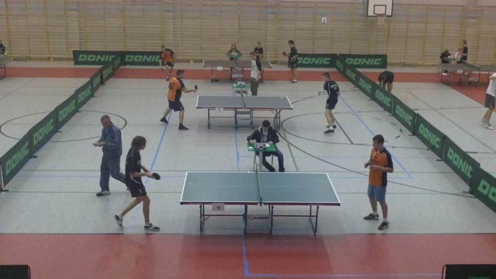 Turniej tenisa stołowego 2011