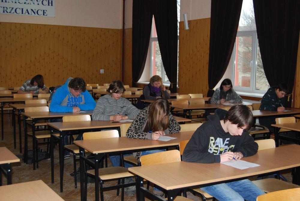 Konkurs języka angielskiego 2012