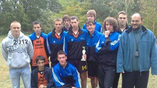 Mistrzostwa powiatu w biegach przełajowych 2012