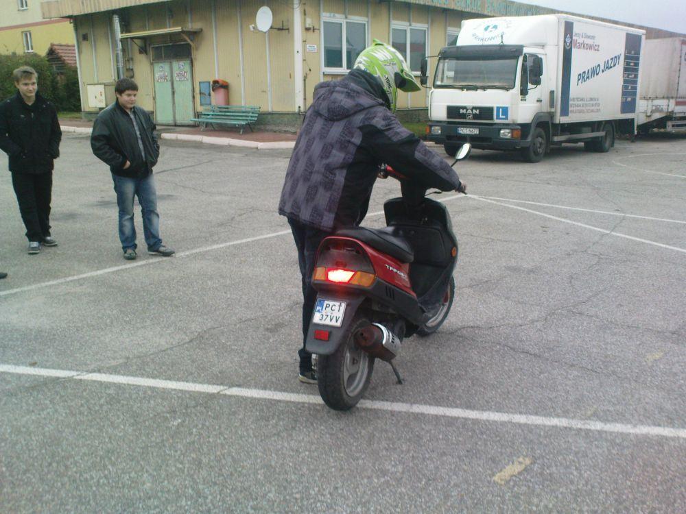Egzamin na kartę motorowerową