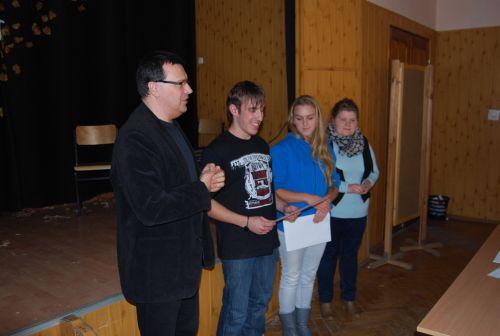 Szkolny etap konkursu Jestem Najlepszy 2012