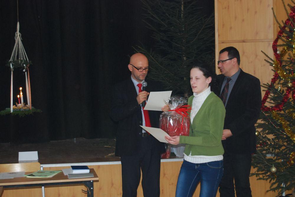 Powiatowy konkurs stroików świątecznych 2012