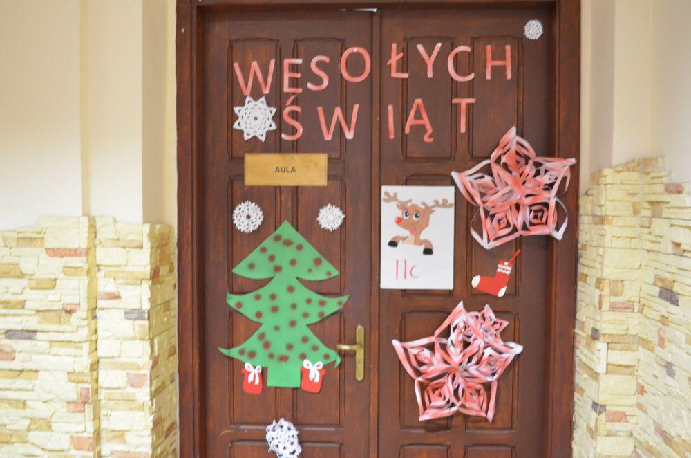Drzwi Świąteczne