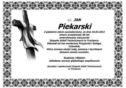 Jan Piekarski