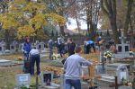 Sprzątanie cmentarza 2015