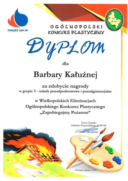 Konkurs plastyczny 2018