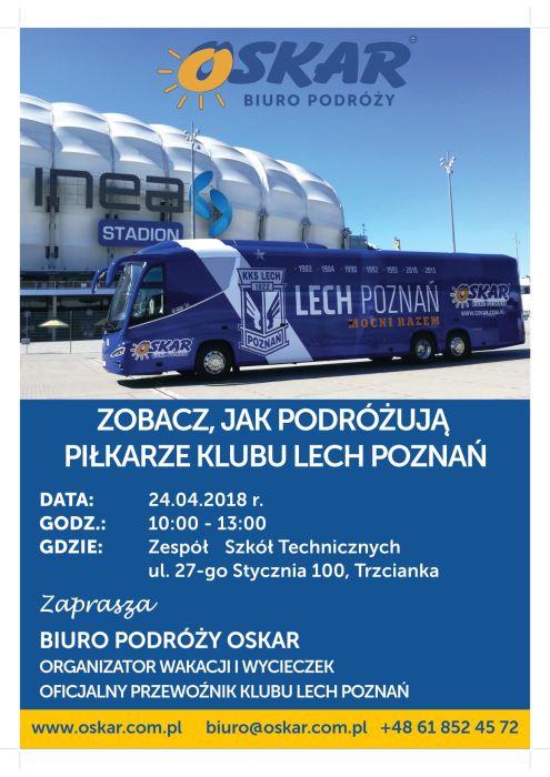 Autokar Lecha Poznań w Trzciance!