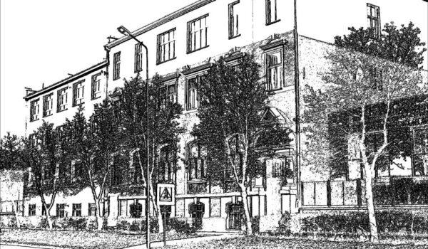 budynek szkoły (grafika)
