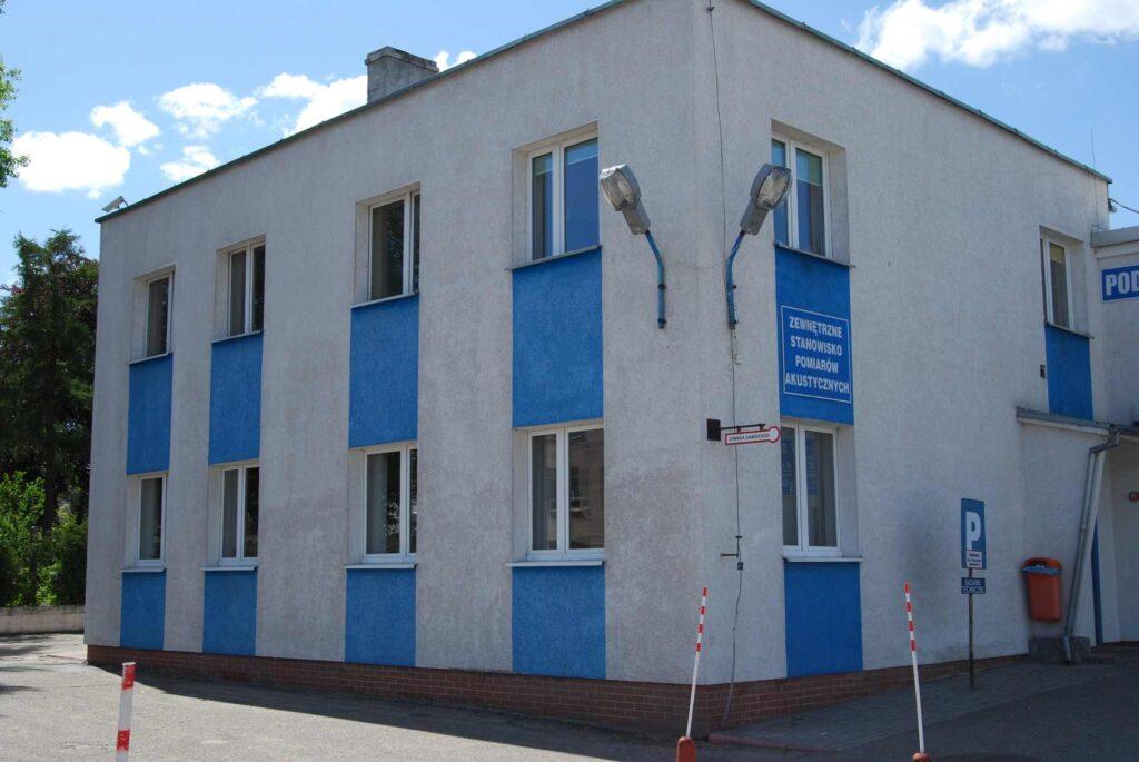budynek stacji kontroli pojazdów