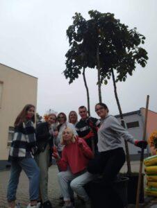 uczniowie ZST w SP! na zajęciach praktycznych